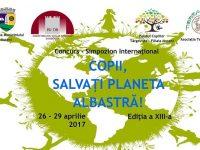 "Moreni: Concurs internațional ""Copii, salvați planeta albastră""!"
