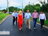 Târgoviște: Primul strat de asfalt în cartierul Priseaca!