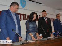 Florina Mureșan a depus jurământul ca subprefect al județului Dâmbovița! Primul mesaj