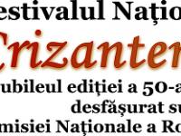Târgoviște, 19-21 octombrie: Crizantema de Aur – ediție jubiliară! Programul complet al festivalului