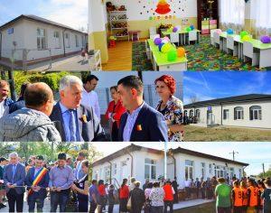 Triplă inaugurare la Corbii Mari: 3 grădinițe finalizate în satele Ungureni și Petrești!