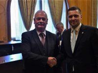 Corneliu Ștefan, membru al Grupului parlamentar de prietenie cu Irlanda, întâlnire cu ambasadorul Derek Feely (detalii)