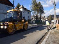 A început reabilitarea DJ 712B Vulcana-Băi – Vulcana-Pandele – Lăculețe