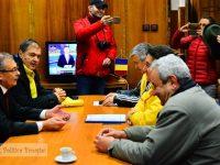 VIDEO: Dialogul prefectului cu cei din PNL Dâmbovița după mitingul neautorizat!