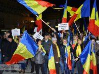 PNL Dâmbovița, miting neautorizat pentru susținerea moțiunii de cenzură (foto)