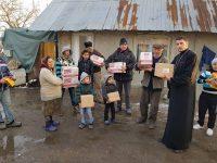 Acțiune filantropică în parohia Cojasca: 6 tone de alimente pentru persoane defavorizate!