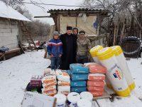 Arhiepiscopia Târgoviștei sprijină reconstrucția casei unei familii din Cornățelu