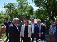 Ministrul de Interne, Carmen Dan, întâlnire de lucru la sediul CJD și deplasare la Văleni (foto și declarații)
