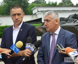 Liceu tehnic militar la Târgoviște! Declarații Adrian Țuțuianu și Mihai Fifor