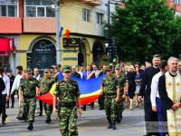 Ziua Drapelului, sărbătorită la Târgoviște în Piața Tricolorului!