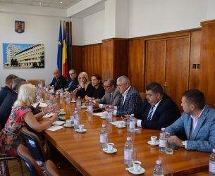 Reprezentanți ai Ministerului Economiei, vizită de lucru în Dâmbovița