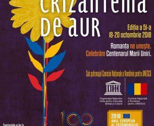 Târgoviște, CRIZANTEMA DE AUR 2018! Noutăți și detalii de program