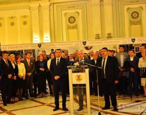 Foto: DESCOPERĂ DÂMBOVIȚA la Palatul Parlamentului – proiect de promovare a județului!