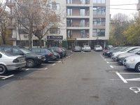 Târgoviște: Parcare finalizată pe strada Nicolae Iorga (foto)