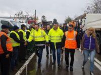 Târgoviște: Pregătiți de iarnă! Primarul a verificat baza de utilaje a municipalității (foto)