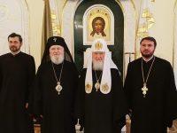 Mitropolitul Nifon participă la ceremoniile aniversării a 10 ani de la întronizarea Patriarhului Kiril