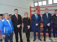 Inaugurare: Sală nouă pentru sportivii Secției de Box a CSM Târgoviște (foto)