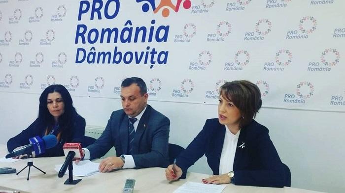 Deputatul Oana Vlăducă (PRO ROMÂNIA) îl interpelează pe ministrul Dezvoltării cu privire la proiectul noului stadion din Târgoviște