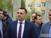 """Târgoviște: Avansează lucrările la baza sportivă de la Colegiul """"Constantin Carabella"""""""
