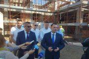 """Târgoviște: Lucrări avansate la Creșa nr. 14 >> """"În urmă cu 4 luni, era o groapă"""""""