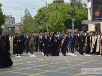 FOTO: Ziua Eroilor, sărbătorită la Târgoviște, în Piața Tricolorului