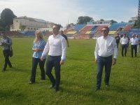 """FOTO/VIDEO: Primele utilaje pe stadionul """"Eugen Popescu"""" din Târgoviște, care va fi reconstruit (detalii)"""