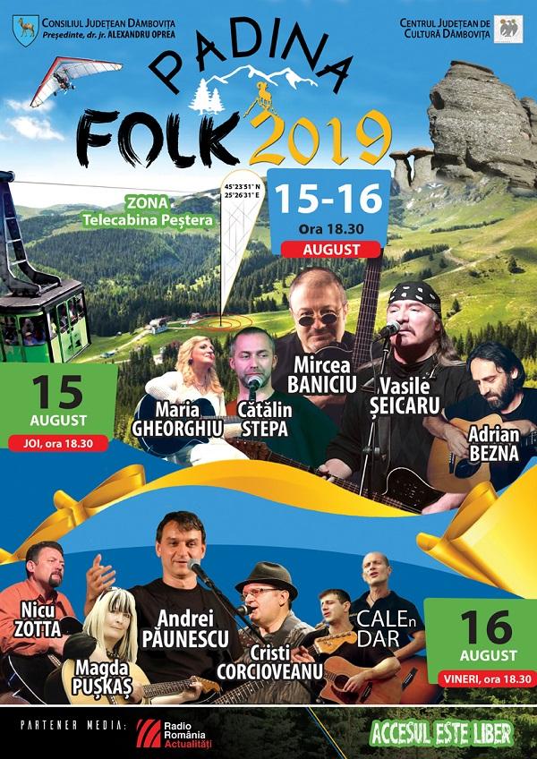 PADINA FOLK, 15-16 august – festival la înălțime, în Munții Bucegi (program)