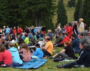 Prima seară de Padina Folk, în Munții Bucegi (foto)