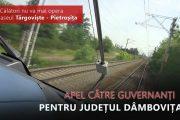 Oana Vlăducă, demers la ministrul Cuc pentru păstrarea trenului pe ruta Târgoviște – Pietroșița