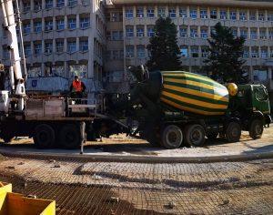 Târgoviște: Avansează lucrările în Piața Tricolorului (ultimele detalii)