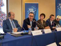 Victor Ponta, ales vicepreședinte al Partidului Democrat European (EDP) / Oana Vlăducă (Dâmbovița), prezentă în delegația de la Paris