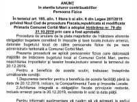 Primăria Corbii Mari, scutiri de penalități pentru cei care-și plătesc taxele și impozitele până pe 20 decembrie