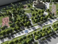 Târgoviște: Cum va arăta Parcul Mitropoliei după reabilitare / a fost semnat contractul