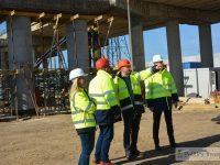 Centura Târgoviștei – se lucrează concomitent pe toate șantierele / foto, vizită de lucru