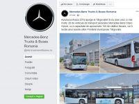 Mercedes-Benz anunță livrarea de autobuze la Târgoviște