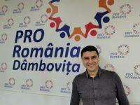 ANUNȚ OFICIAL: Cosmin Bozieru este candidatul PRO ROMÂNIA pentru Primăria Târgoviște!