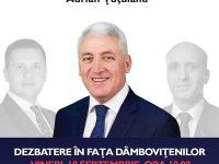 18 septembrie, ora 18.00: Adrian Țuțuianu își cheamă contracandidații la dezbatere în fața dâmbovițenilor