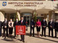 PSD Dâmbovița a depus candidaturile pentru alegerile parlamentare / 3 primari pe lista de la Camera Deputaților