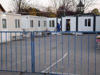 Containere încălzite în locul corturilor, pentru pacienții suspecți sau diagnosticați COVID, la Spitalul Județean de Urgență Târgoviște