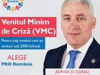 Adrian Țuțuianu (PRO ROMÂNIA): Venitul minim de criză poate ajuta peste 5,8 milioane de români!