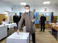 ZIUA ALEGERILOR: A votat la prima oră președintele CJ și PSD Dâmbovița, Corneliu Ștefan (declarații)