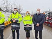 Primăria Târgoviște, pregătită de iarnă: oameni, utilaje, stocuri de materiale (foto, declarații)