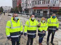 Târgoviște: Lucrările din Piața Revoluției, aproape de final / în primăvară, zonă complet reabilitată