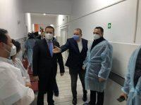 Vizită în centrul de vaccinare de la Spitalul Județean de Urgență Târgoviște / aproape 400 de cadre medicale s-au vaccinat până astăzi