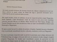 Primarul din Iași revine asupra declarației jignitoare despre Târgoviște / scrisoare către primarul Cristian Stan