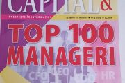 Revista Capital: Top 100 manageri de succes / Primarul Târgoviștei, în Top 10 la capitolul Administrație