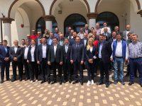 Alexandru Țachianu și-a depus candidatura pentru Primăria Braniștea / toată conducerea PSD Dâmbovița alături de el