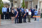 Ziua imnului, la Târgoviște (foto) / NICIUN PARLAMENTAR NU A FOST PREZENT