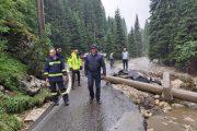 Președintele CJ Dâmbovița a mers în zona montană lovită de viituri / primele concluzii și măsuri