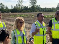 Târgoviște: Parcul de lângă Complexul de Natație va fi gata până în primăvara anului viitor / zonă transformată